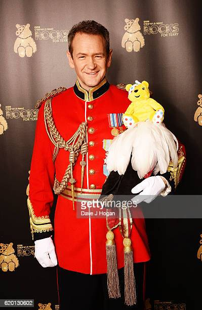Alexander Armstrong supports BBC Children in Need Rocks for Terry at Royal Albert Hall on November 1 2016 in London England