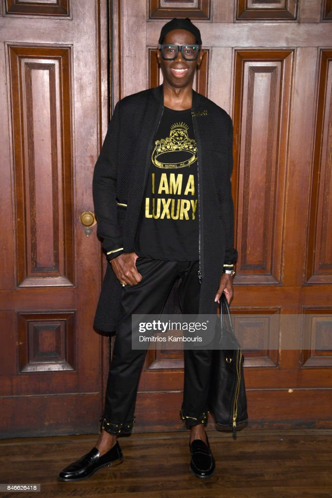 J. Alexander attends Marc Jacobs SS18 fashion show during New York Fashion Week at Park Avenue Armory on September 13, 2017 in New York City.