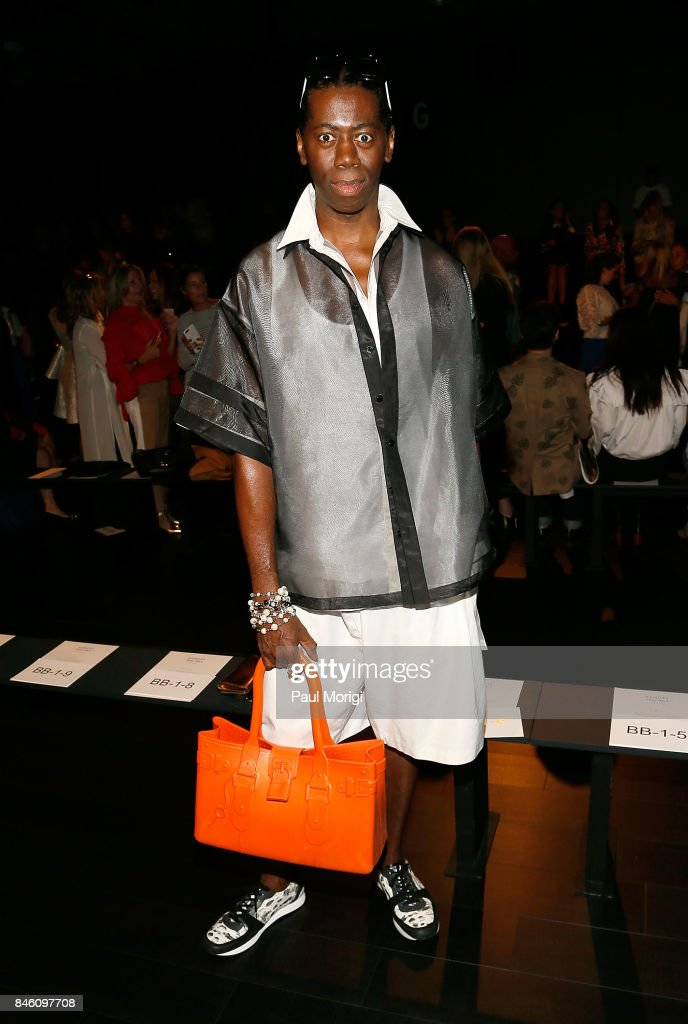 J. Alexander attends the Badgley Mischka fashion show during New York Fashion Week: The Shows at Gallery 1, Skylight Clarkson Sq on September 12, 2017 in New York City.