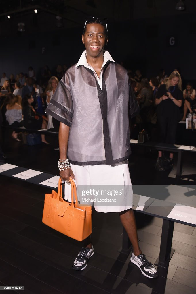 J. Alexander attends the Badgley Mischka -fashion show during September 2017 - New York Fashion Week: The Shows at Gallery 1, Skylight Clarkson Sq on September 12, 2017 in New York City.