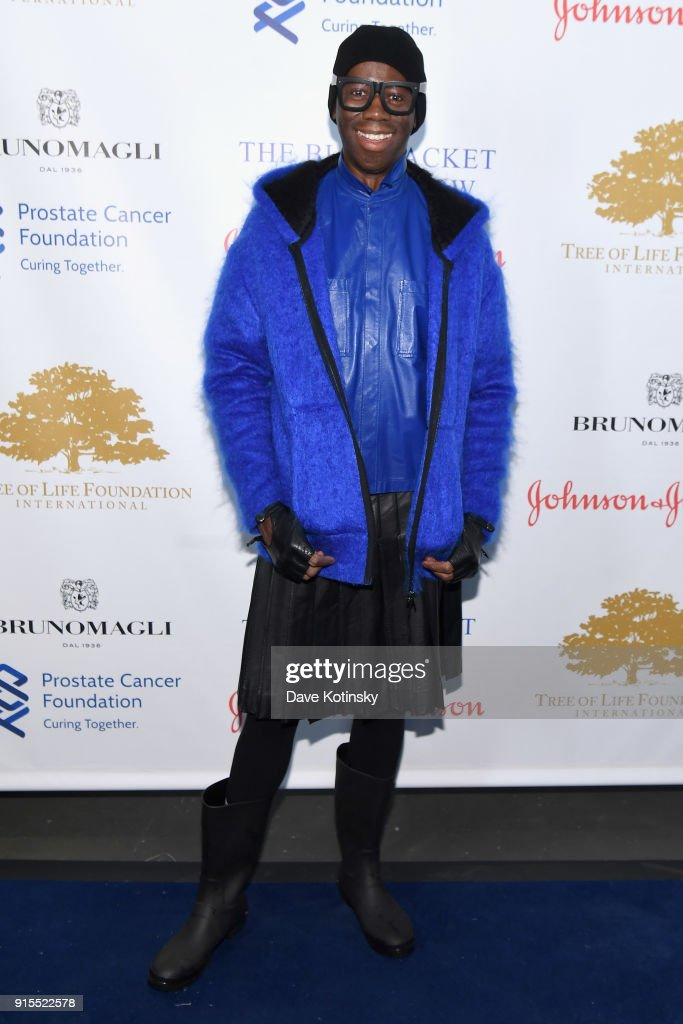 J. Alexander attends the Blue Jacket Fashion Show to benefit the Prostate Cancer Foundation on February 7, 2018 in New York City.