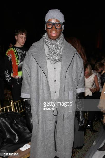 J Alexander attends the Dennis Basso front row during New York Fashion Week The Shows at Cipriani 42nd Street on February 11 2019 in New York City