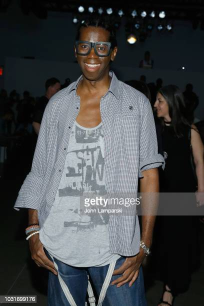 Alexander attends the Hogan McLaughlin front Row during New York Fashion Week: The Shows at Gallery II at Spring Studios on September 11, 2018 in New...