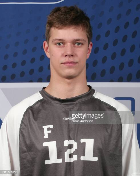 Alexander Avtsin poses for a photo prior to testing at the 2009 NHL Combine on May 30 2009 at the Westin Bristol Place in Toronto Canada