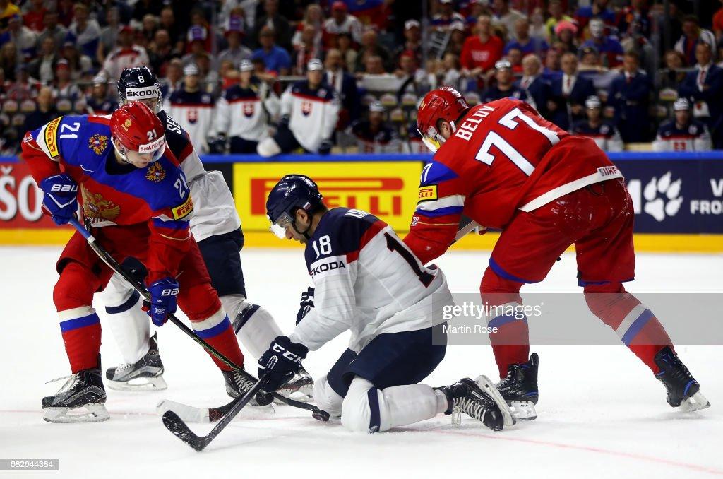 Russia v Slovakia - 2017 IIHF Ice Hockey World Championship