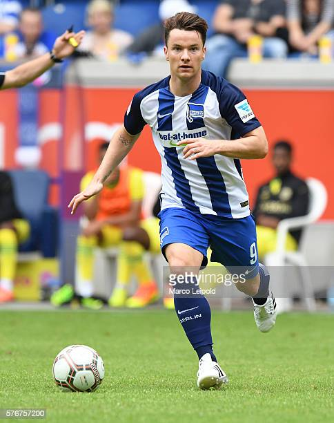 Alexander Baumjohann of Hertha BSC during the cup of traditions on july 17 2016 in Duisburg Germany