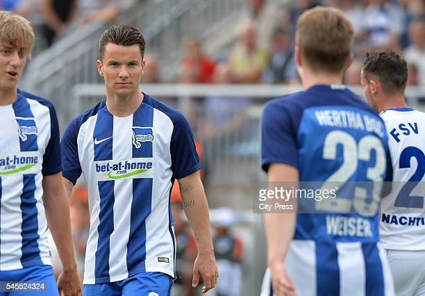 Alexander Baumjohann of Hertha BSC during the test match between FSV 63 Luckenwalde and Hertha BSC on july 8 2016 in Luckenwalde Germany