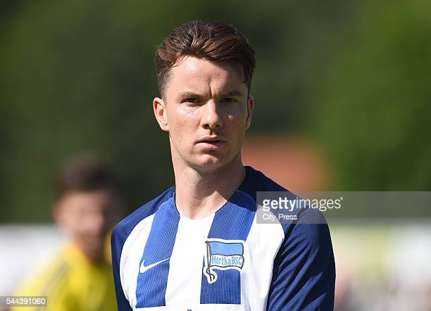 Alexander Baumjohann of Hertha BSC during the training match between FC Schwedt 02 and Hertha BSC on july 3 2016 in Berlin Germany