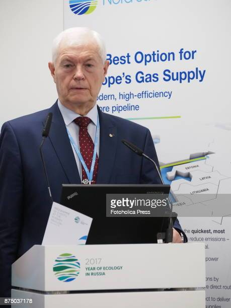 Alexander Bedritsky Adviser to the President of the Russian Federation and Special Envoy for Climate speaking at the United Nations Framework...