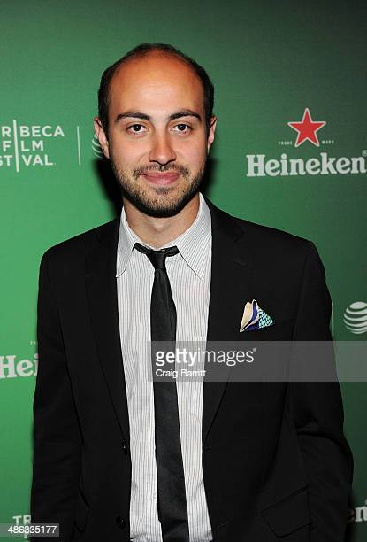 Alexander Berman attends the Heineken Cocktails and Viewing at Tribeca Grand Hotel on April 23 2014 in New York City