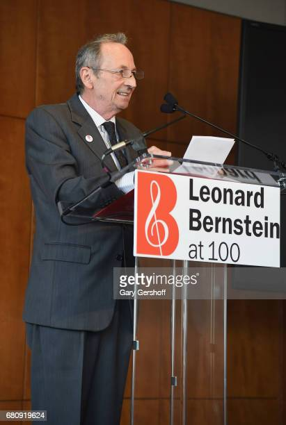 Alexander Bernstein attends the Leonard Bernstein at 100 press event at Stanley H Kaplan Penthouse at Lincoln Center on May 9 2017 in New York City