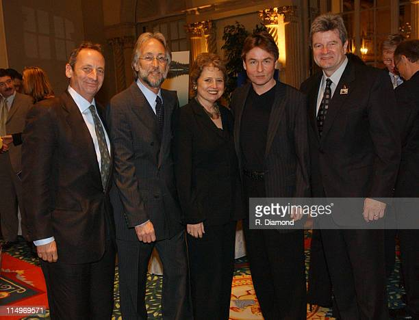 Alexander Bernstein Neil Portnow Deborah Borda President of the Los Angeles Philharmonic EsaPekka Salonen and Daniel Carlin Photo by R...