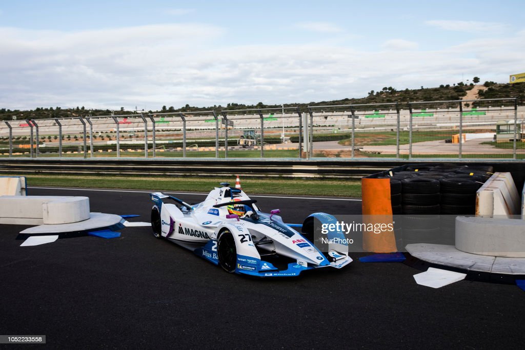 Formula E Tests Valencia : News Photo
