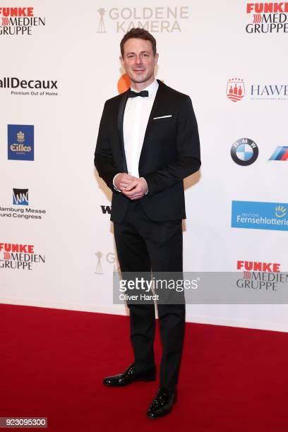 Alexander Bommes attends for the Goldene Kamera on February 22 2018 in Hamburg Germany