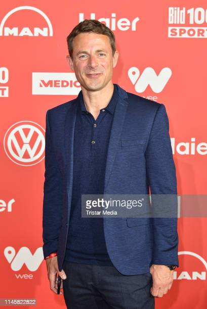 Alexander Bommes attends the BILD100 SPORT Get Together at Axel Springer Haus on May 24 2019 in Berlin Germany