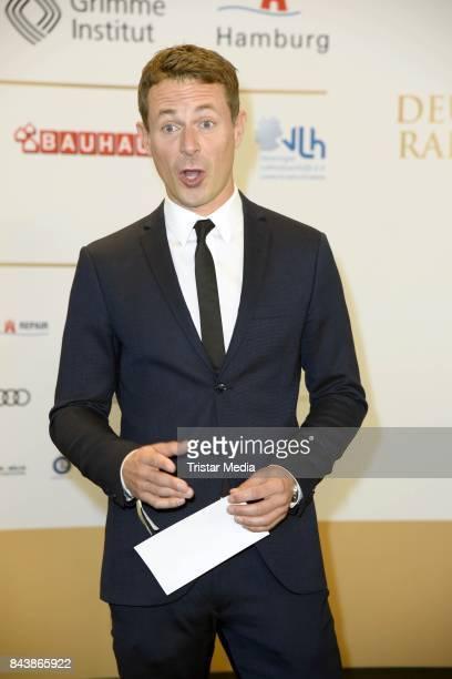 Alexander Bommes attends the Deutscher Radiopreis at Elbphilharmonie on September 7 2017 in Hamburg Germany