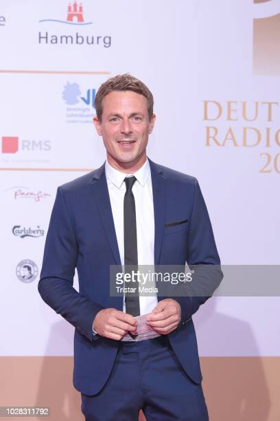 Alexander Bommes attends the Deutscher Radiopreis at Schuppen 52 on September 6 2018 in Hamburg Germany