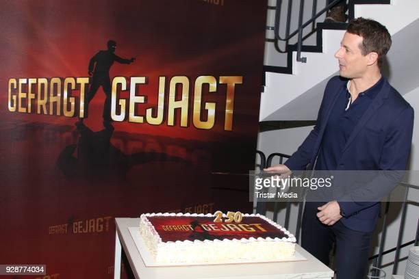 Alexander Bommes during the 'GefragtGejagt' TV Show on March 7 2018 in Hamburg Germany