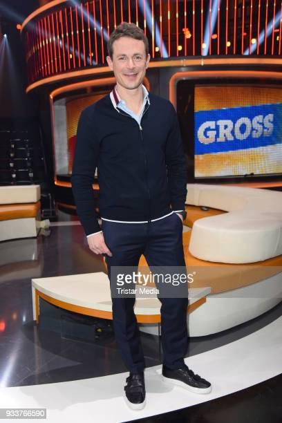 Alexander Bommes during the TV show 'Klein gegen Gross' on March 18 2018 in Berlin Germany