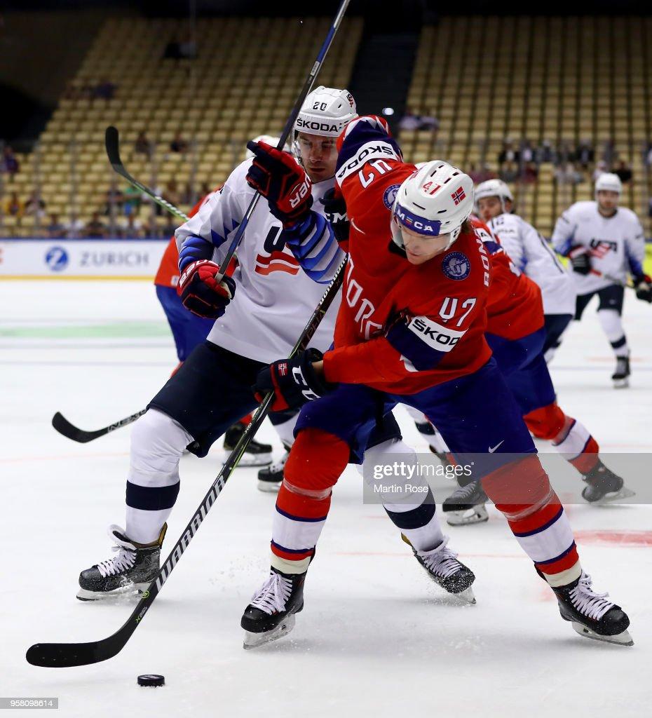 Norway v United States - 2018 IIHF Ice Hockey World Championship
