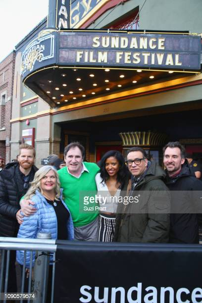 Alexander Buono Paula Pell Richard Kind Renee Elise Goldsberry Fred Armisen and Rhys Thomas attend the 'Documentary Now' Red Carpet Screening And...