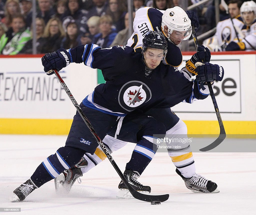Buffalo Sabres v Winnipeg Jets : News Photo
