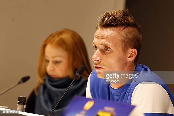 Alexander Buttner of Dinamo Moscow during a training session of Dinamo Moscow prior to the Europa League match between PSV Eindhoven and Dinamo...