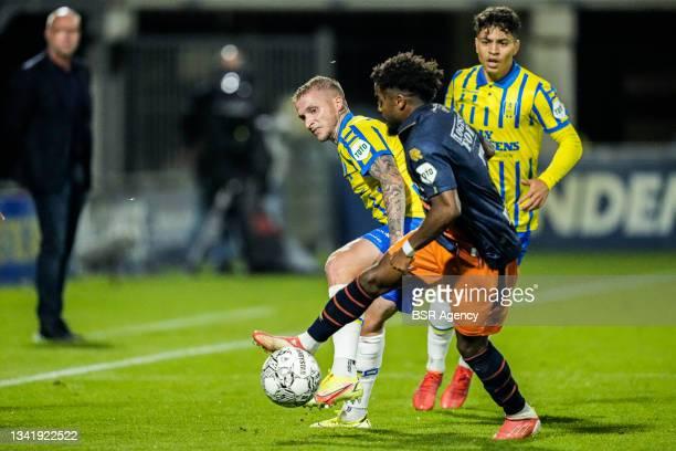 Alexander Buttner of RKC Waalwijk during the Dutch Eredivisie match between RKC Waalwijk and Willem II at Mandemakers Stadion on September 21, 2021...