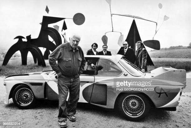 Alexander Calder 1975 BMW 30 CSL