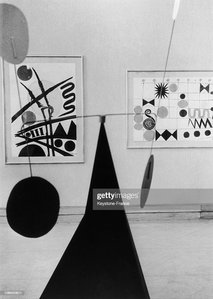 Alexander Calder Exhibition : News Photo