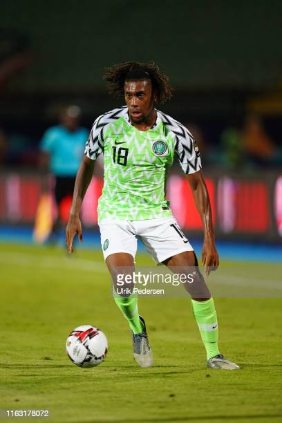 Alexander Chuka Iwobi of Nigeria during the 2019 Africa Cup of Nations third place final soccer match between Tunisia and Nigeria at the Al-Salam...