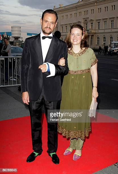 Alexander Count von SchoenburgGlauchau and wife Irina Verena Princess von Hessen attend the Sustainability Award at the Deutsche Historische Museum...