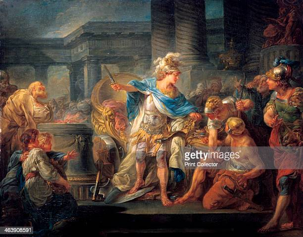 'Alexander Cuts the Gordian Knot' late 18th/early 19th century From the Ecole des BeauxArts Paris
