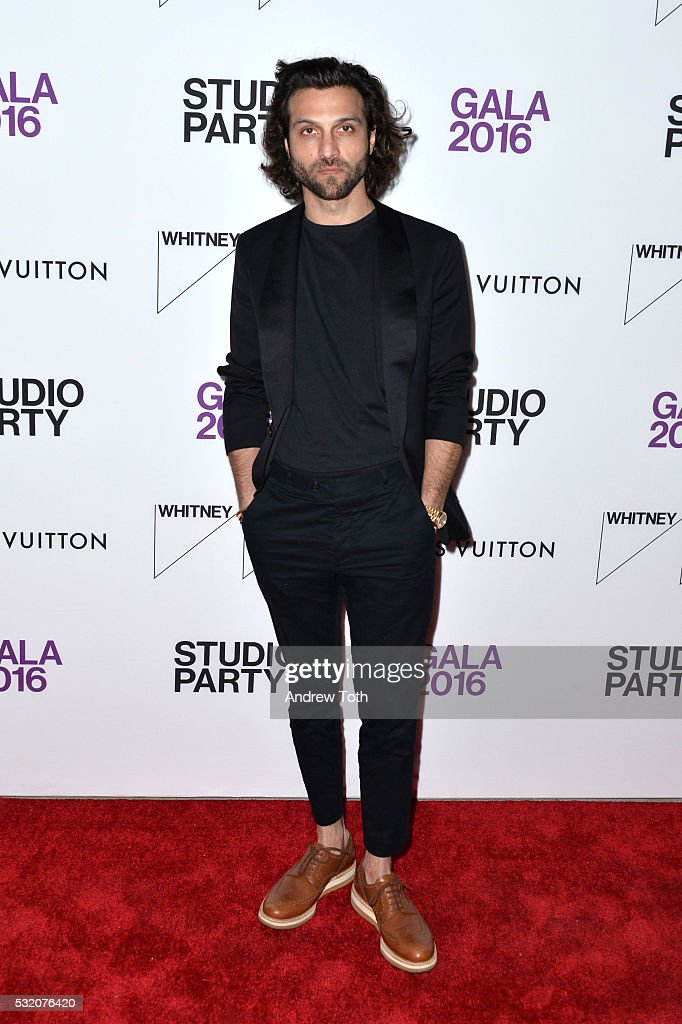 Alexander Dipersia attends the 2016 Whitney Studio Party at The Whitney Museum of American Art on May 17, 2016 in New York City.