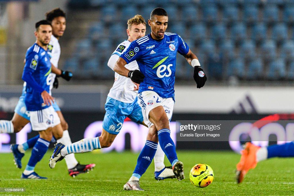 RC Strasbourg v Olympique Marseille - Ligue 1 : News Photo