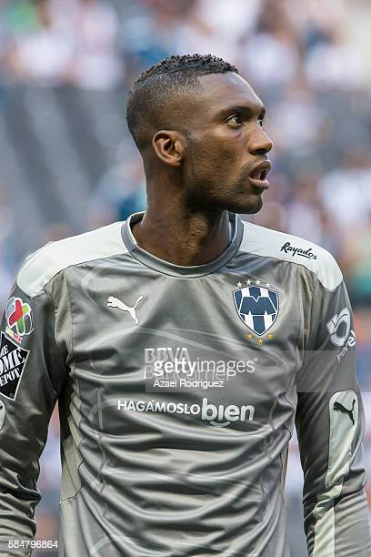 Alexander Dominguez goalkeeper of Monterrey pose prior the 3rd round match between Monterrey and Cruz Azul as part of the Torneo Apertura 2016 Liga...