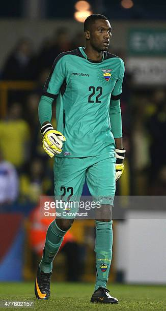 Alexander Dominguez of Ecuador during the International Friendly match between Australia and Ecuador at The Den on March 05 2014 in London England