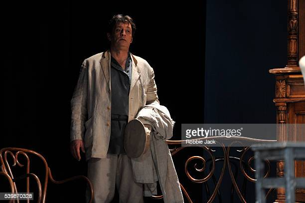 Alexander Domogarov as Mikhail Lvovich Astrov in Moscow's Mossovet State Academic Theatre's production of Anton Chekhov's Uncle Vanya directed by...