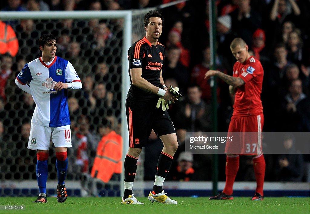 Blackburn Rovers v Liverpool - Premier League : News Photo