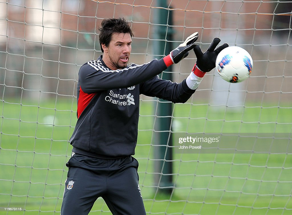 Liverpool Training : News Photo
