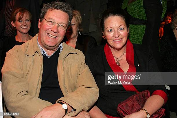 Alexander Downer and Nicky Downer attend Westfield Presents Ford Supermodel of the World 2006/2007 at Skylight Studios on January 17 2007 in New York...