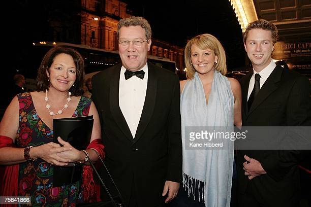 Alexander Downer Nicky Downer and guests arrives at the opening night of the new stage production of Andrew Lloyd Webber's Phantom of the Opera at...