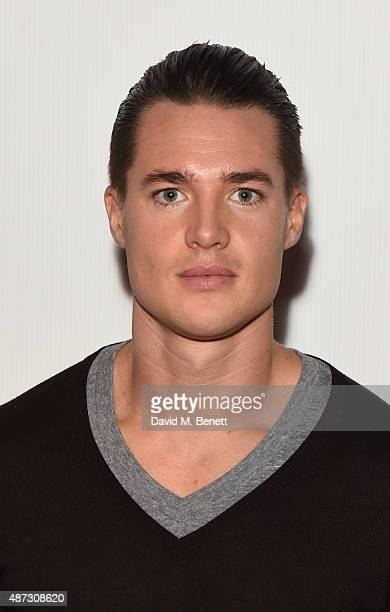 Alexander Dreymon attends a photocall for 'The Last Kingdom' at Charlotte Street Hotel on September 8 2015 in London England