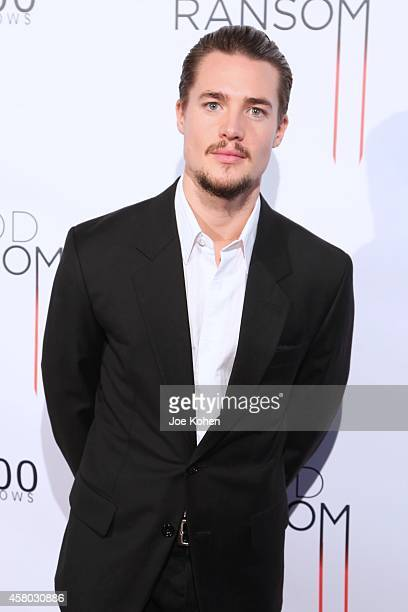Alexander Dreymon attends 'Blood Ransom' Los Angeles Premiere at ArcLight Hollywood on October 28 2014 in Hollywood California