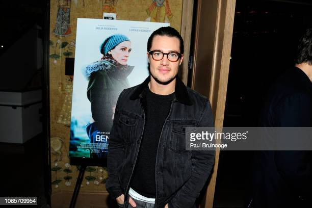 Alexander Dreymon attends Roadside Attractions With The Cinema Society Host A Special Screening Of 'Ben Is Back' at The Whitby Hotel on November 26...