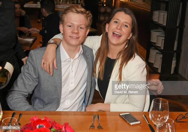 Alexander Dundas and Loulou Dundas attend Alexander Dundas's 18th birthday party hosted by Lord and Lady Dundas on December 16 2017 in London England