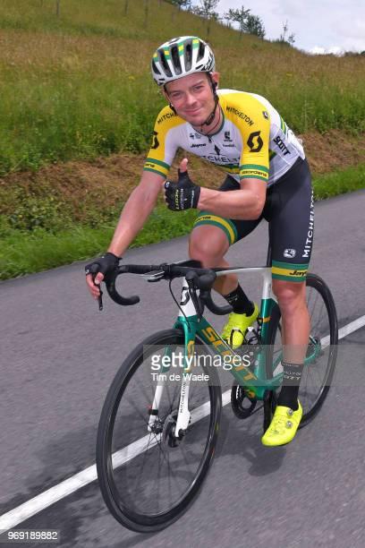 Alexander Edmondson of Australia and Team MitcheltonScott / during the 70th Criterium du Dauphine 2018 Stage 4 a 181km stage from ChazeysurAin to...
