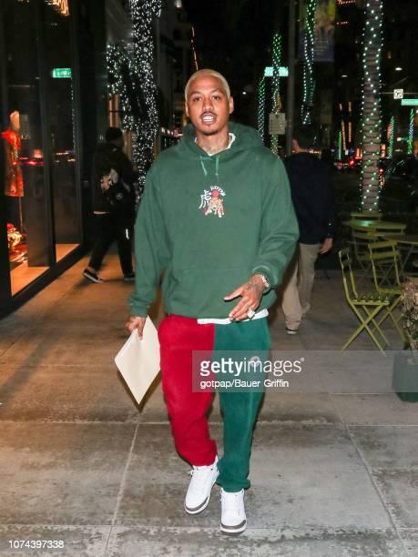 Alexander Edwards is seen on December 18 2018 in Los Angeles California