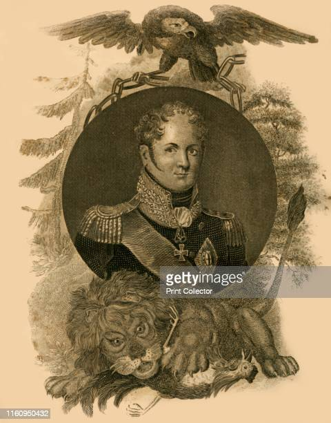 Alexander Emperor of Russia', , 1816. Alexander I Emperor of Russia from 1801-1825, changed Russia's position relative to France four times between...