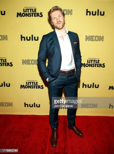 Alexander England attends Little Monsters New York premiere at AMC Lincoln Square Theater on October 08 2019 in New York City